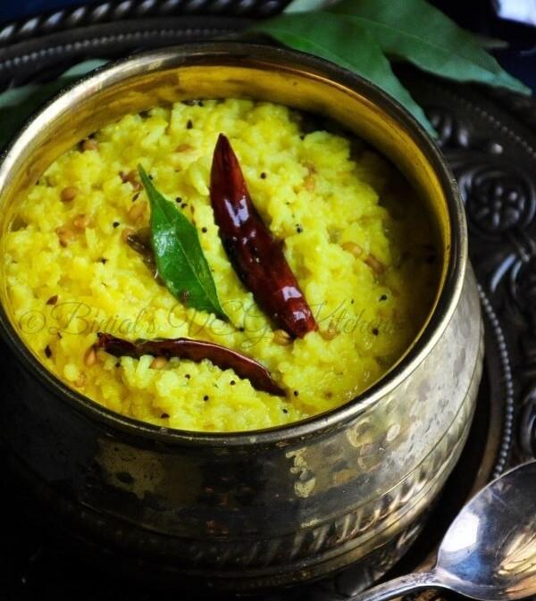 Рисовый карри с пажитником