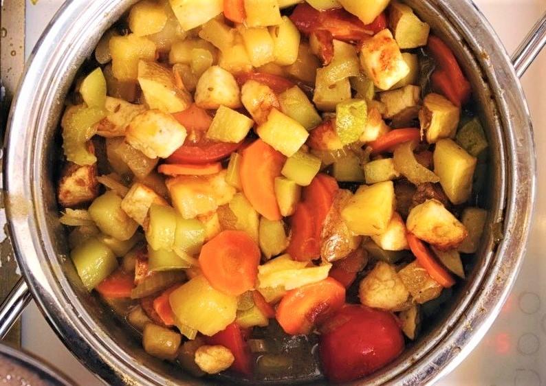 Кхати митхи сабджи - Сладко-кислые овощи