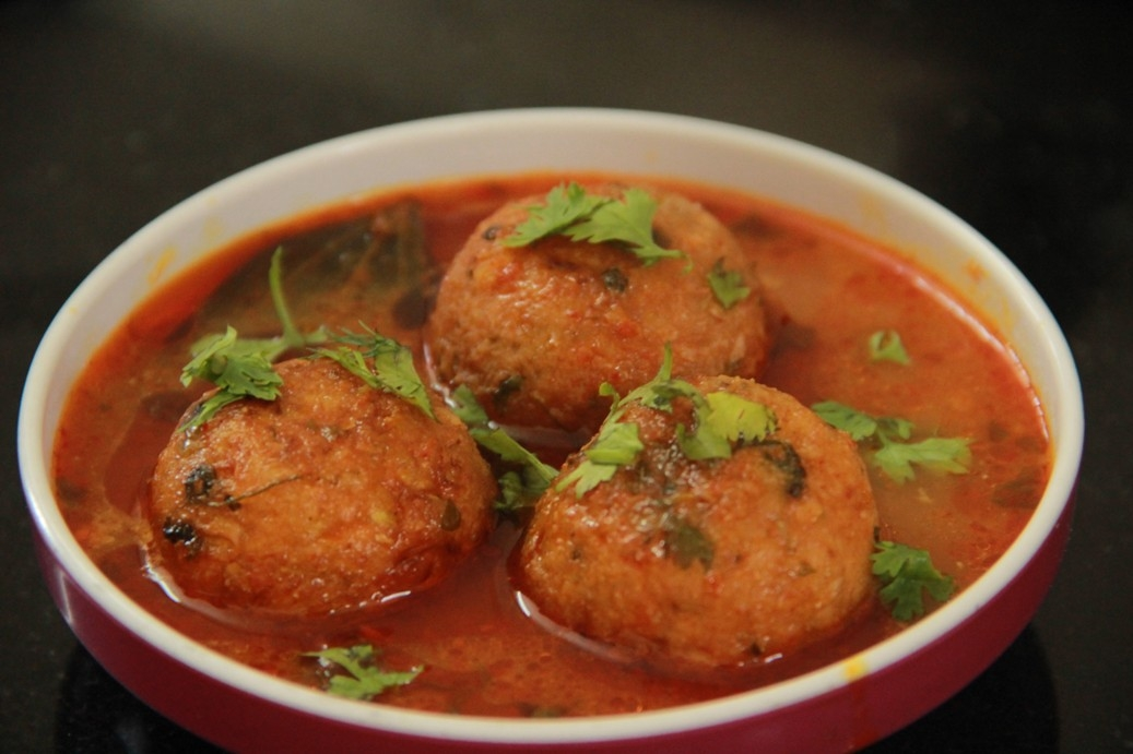Алу Кофта - жареные овощные шарики