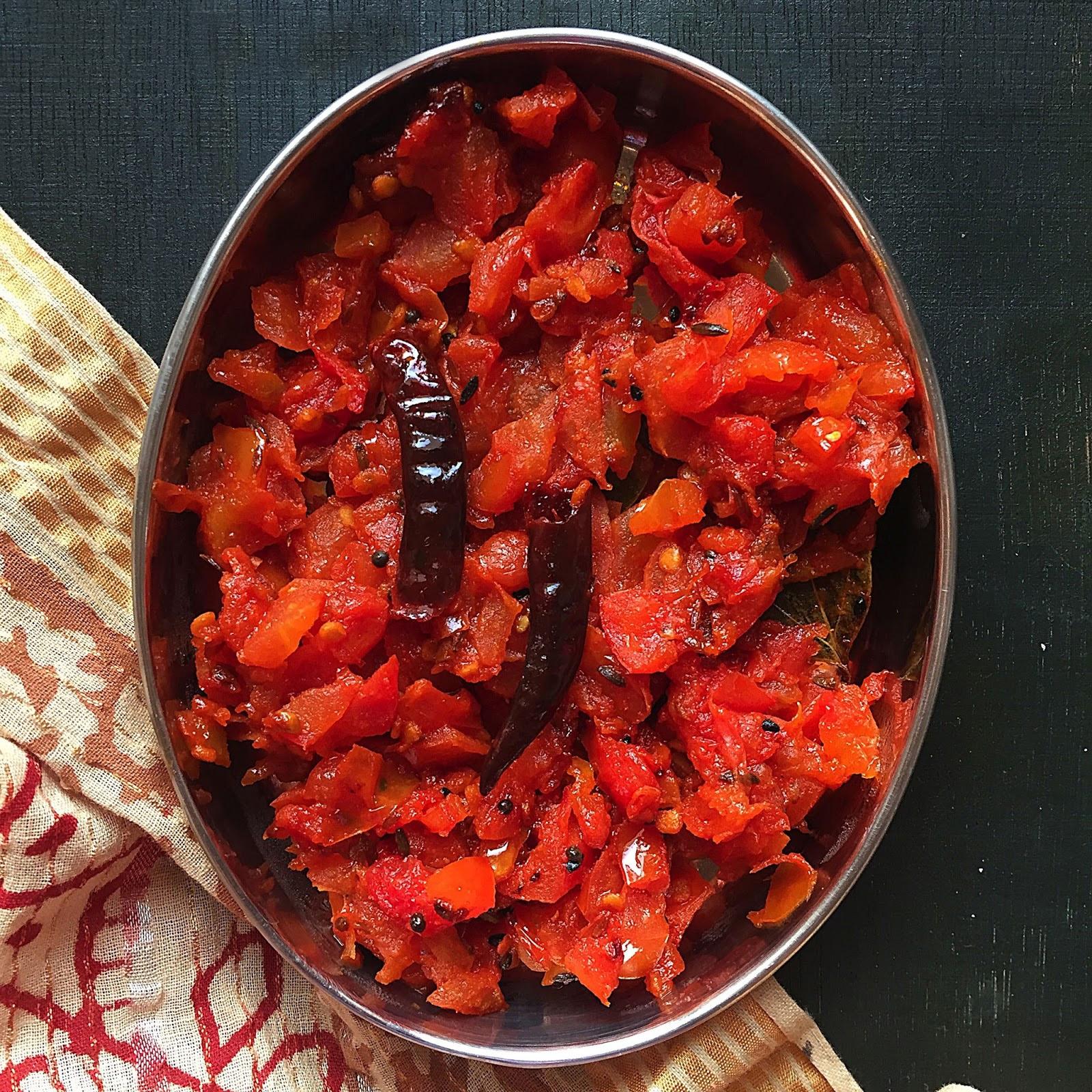 Ассамский томатный чатни