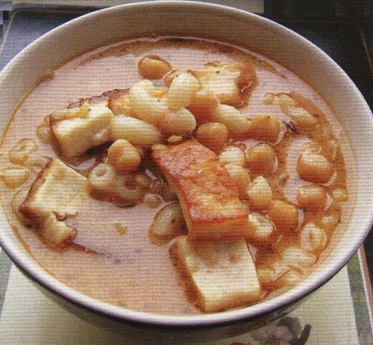 Марокканский суп из бобов и овощей (харира)