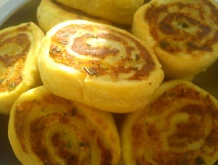 Алупатра - картофельные рулеты