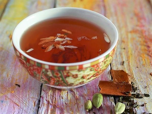Кашмирский шафрановый чай