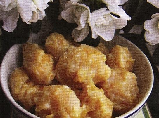 Картофельные ньокки с тыквой