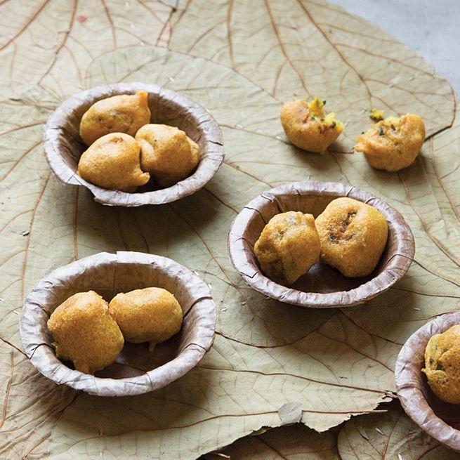 Алу Бонда - Индийские оладьи из картофельного пюре