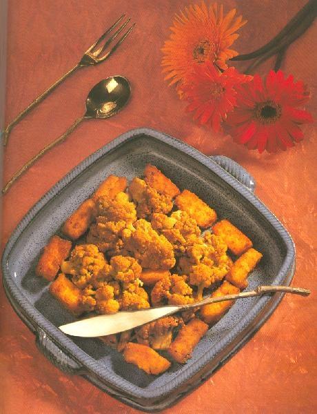 Гоби Чаман - Цветная капуста с паниром и тмином