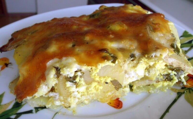 Алу гауранга - картофель запеченный с паниром