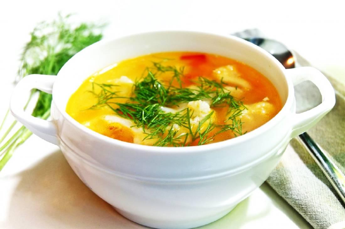 Овощной суп Тридошик